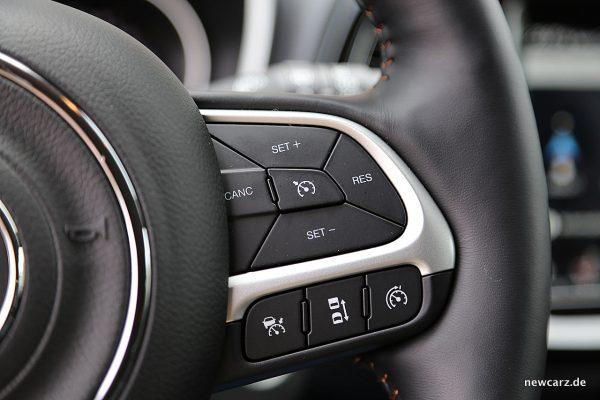 Jeep Compass Tempomaten