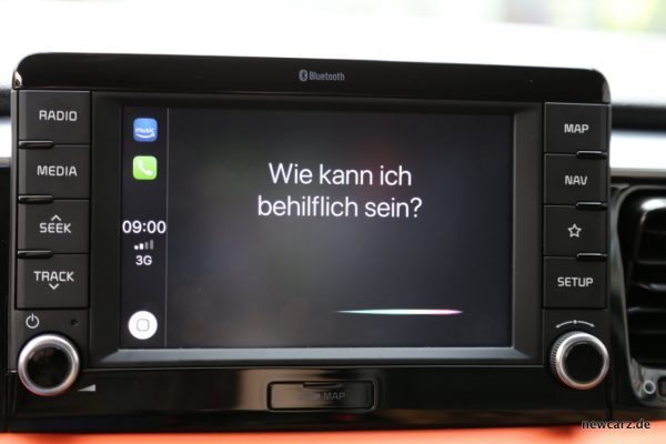 Kia Stonic Siri Apple CarPlay
