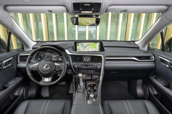 Lexus RX L - komfortabler Innenraum
