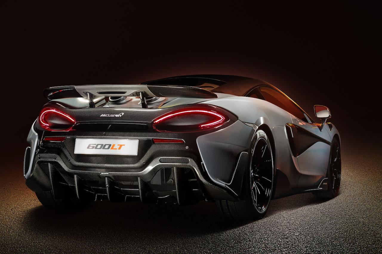 McLaren 600LT Heck