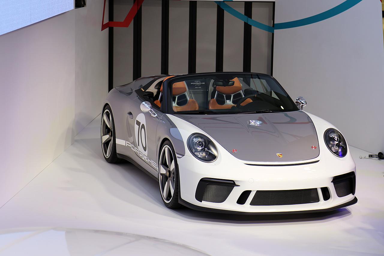 Porsche Sondermodell 911 Speedster Concept