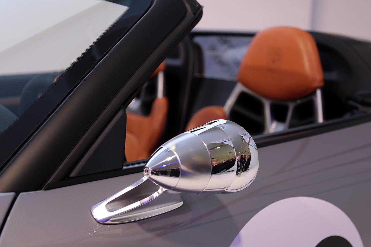 Porsche Speddster Concept Aussenspiegel Talbot