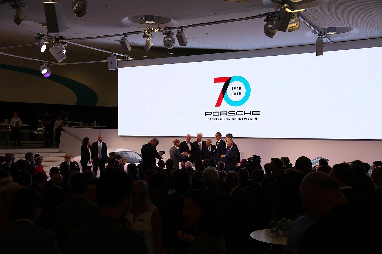 Porsche Jubiläum 70 Jahre Porsche Museum