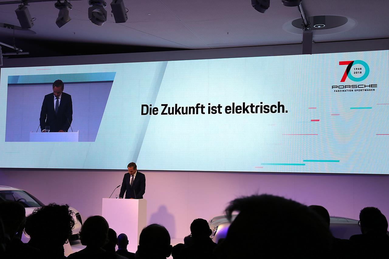 Porsche 70 Jahre Zukunft ist elektrisch