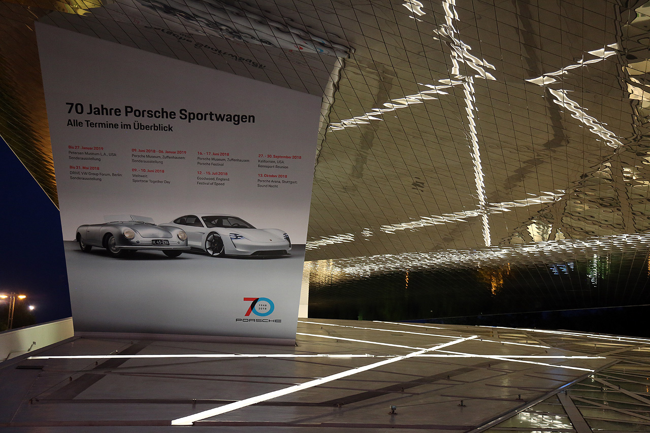 Porsche Jubiläumsjahr Termine 70 Jahre Sportwagen