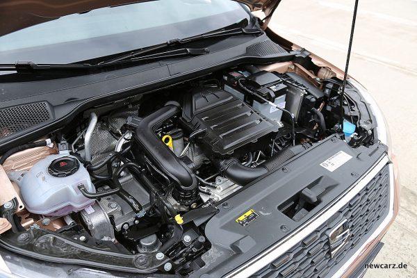 Seat Arona Motorraum