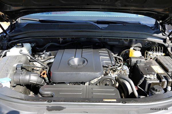 SsangYong Rexton Motorraum