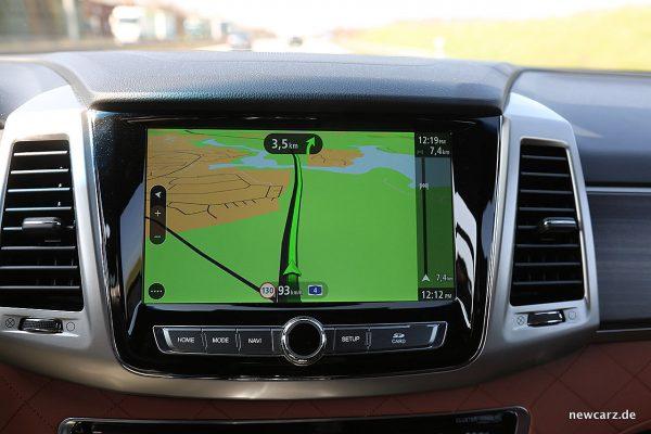 SsangYong Rexton Touchscreen