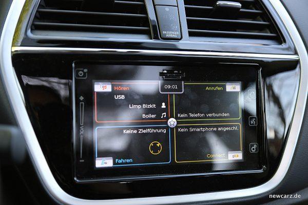 Suzuki SX4 S-Cross Bildschirm