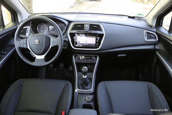 Suzuki SX4 S-Cross Instrumententafel