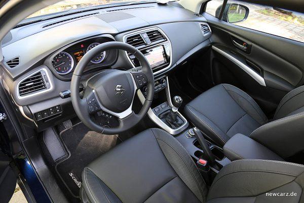 Suzuki SX4 S-Cross Interieur