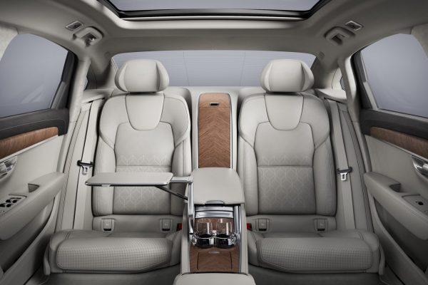 Volvo S90L Excellence Sitzplätze hinten