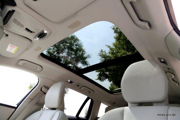 Volvo V60 Panorama-Glasdach