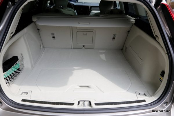Volvo V60 Kofferraum