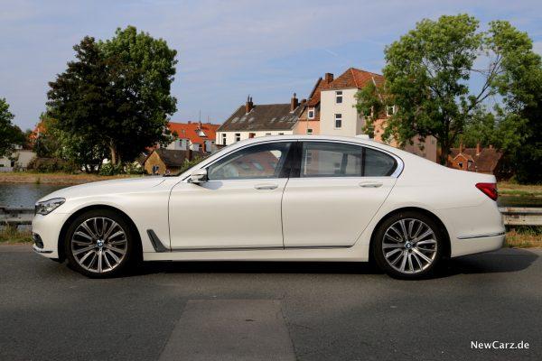 BMW 730d xDrive Seitenansicht