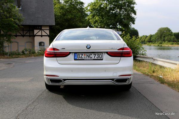 BMW 7er Heckansicht