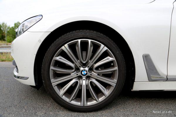 BMW 7er Rad vorne