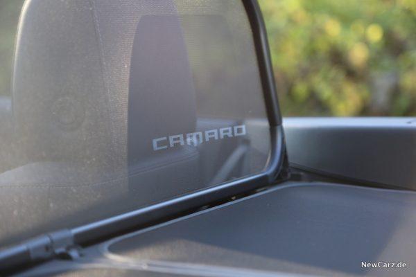 Chevrolet Camaro Cabriolet Windschott