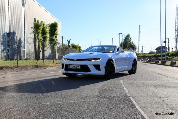 Chevrolet Camaro Cabrio offen