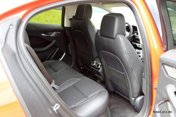 Jaguar I-Pace Rückbank