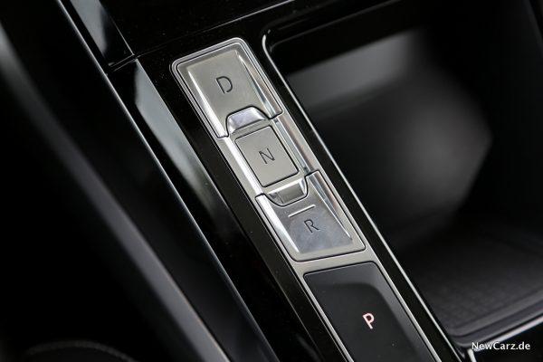Jaguar I-Pace Gangwahl Tasten