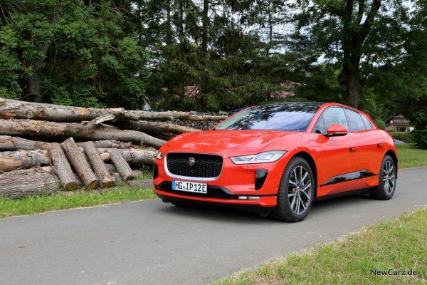 Jaguar I-Pace Front Seitenansicht