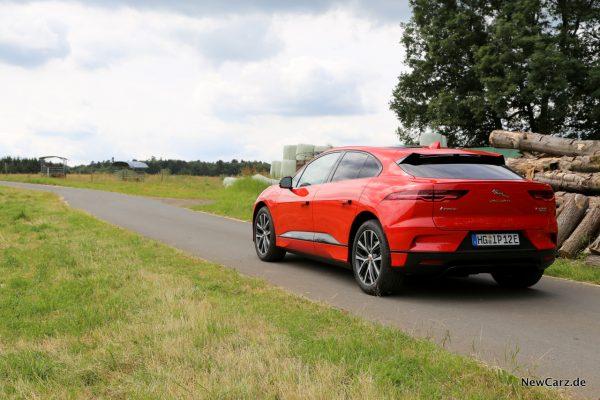 Jaguar I-Pace Heckansicht