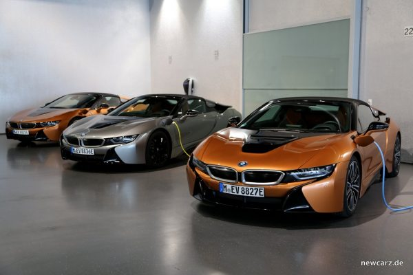 BMW i8 Roadster E-Copper
