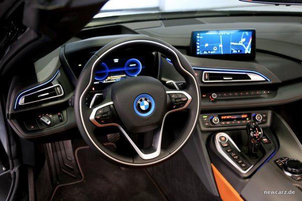 BMW i8 Roadster lenkrad