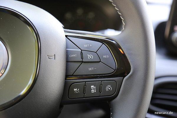 Fiat Tipo MJ2018 Tempomatsteuerung