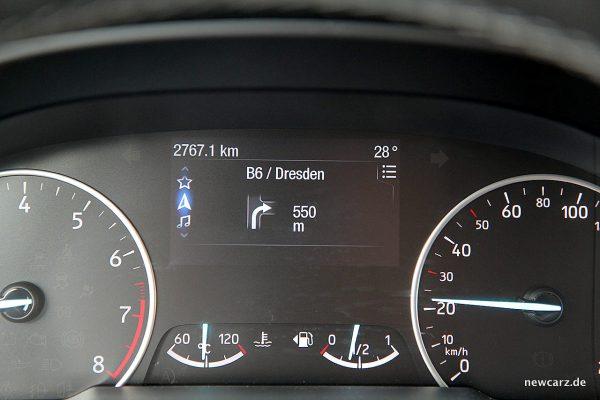 Ford EcoSport Routenführung