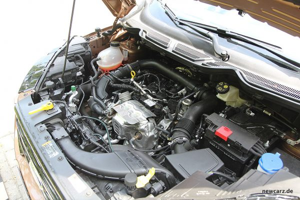 Ford EcoSport Motorraum