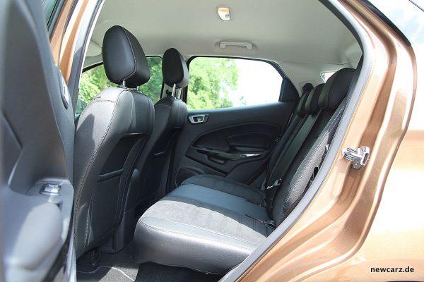 Ford EcoSport Rückbank