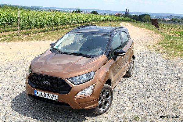 Ford EcoSport schräg oben