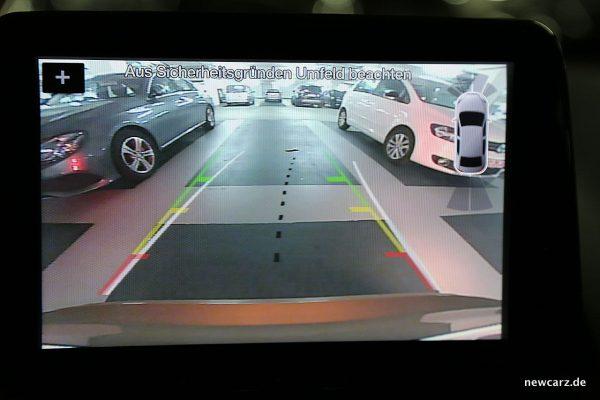 Ford EcoSport Rückfahrkamera