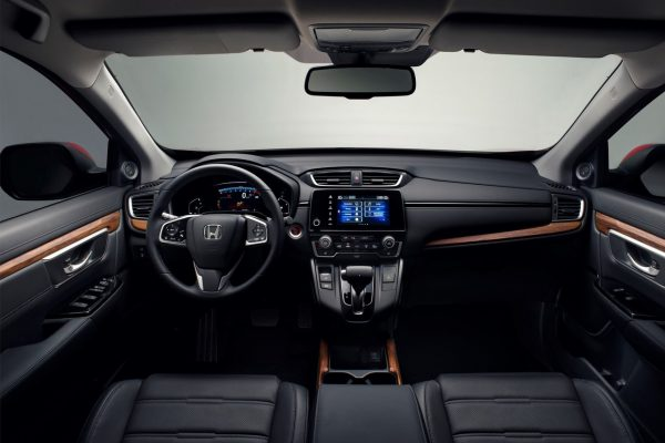 Der Innenraum des Honda CR-V