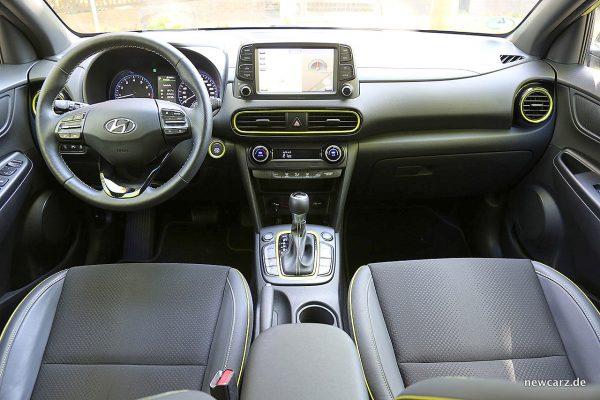 Hyundai Kona Armaturenbrett