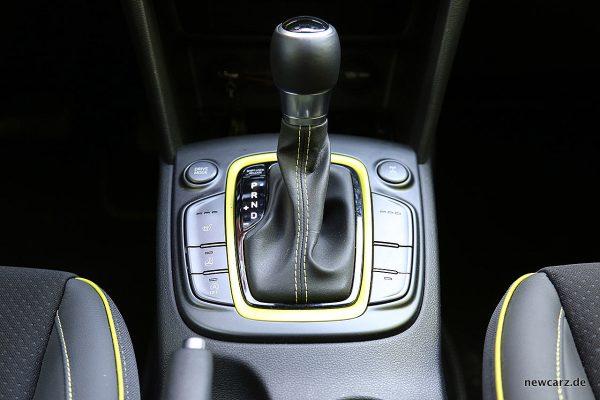Hyundai Kona Schalthebel