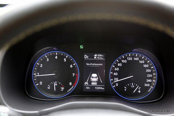 Hyundai Kona Spurhalteassistent