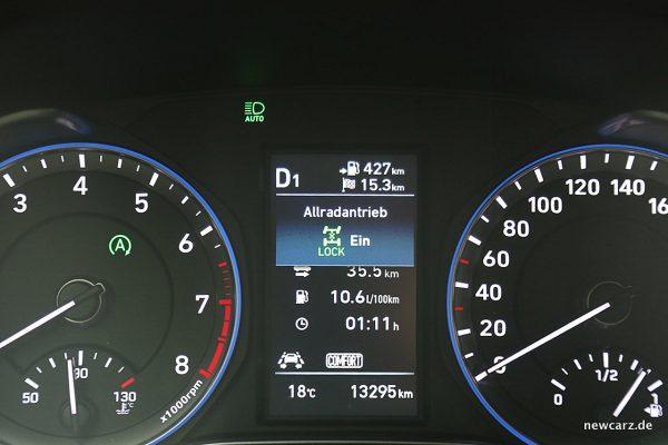 Hyundai Kona Multiinfodisplay