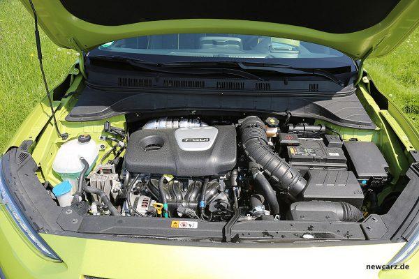 Hyundai Kona Motorraum