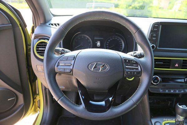 Hyundai Kona Lenkrad