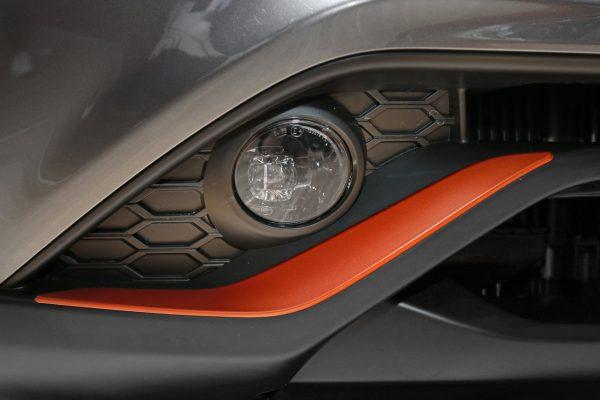 Scheinwerfer des Nissan Juke