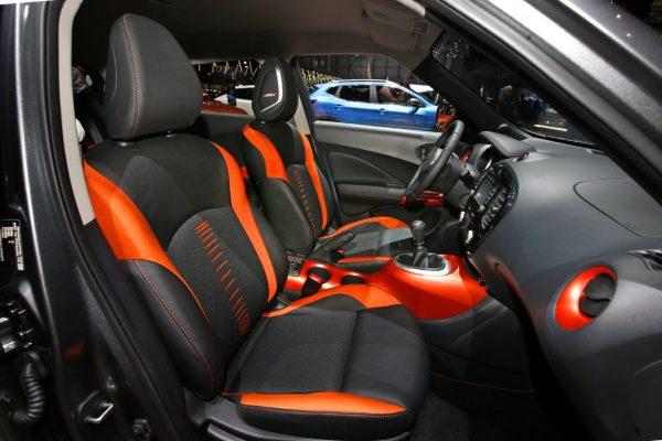 Interieur des Nissan Juke