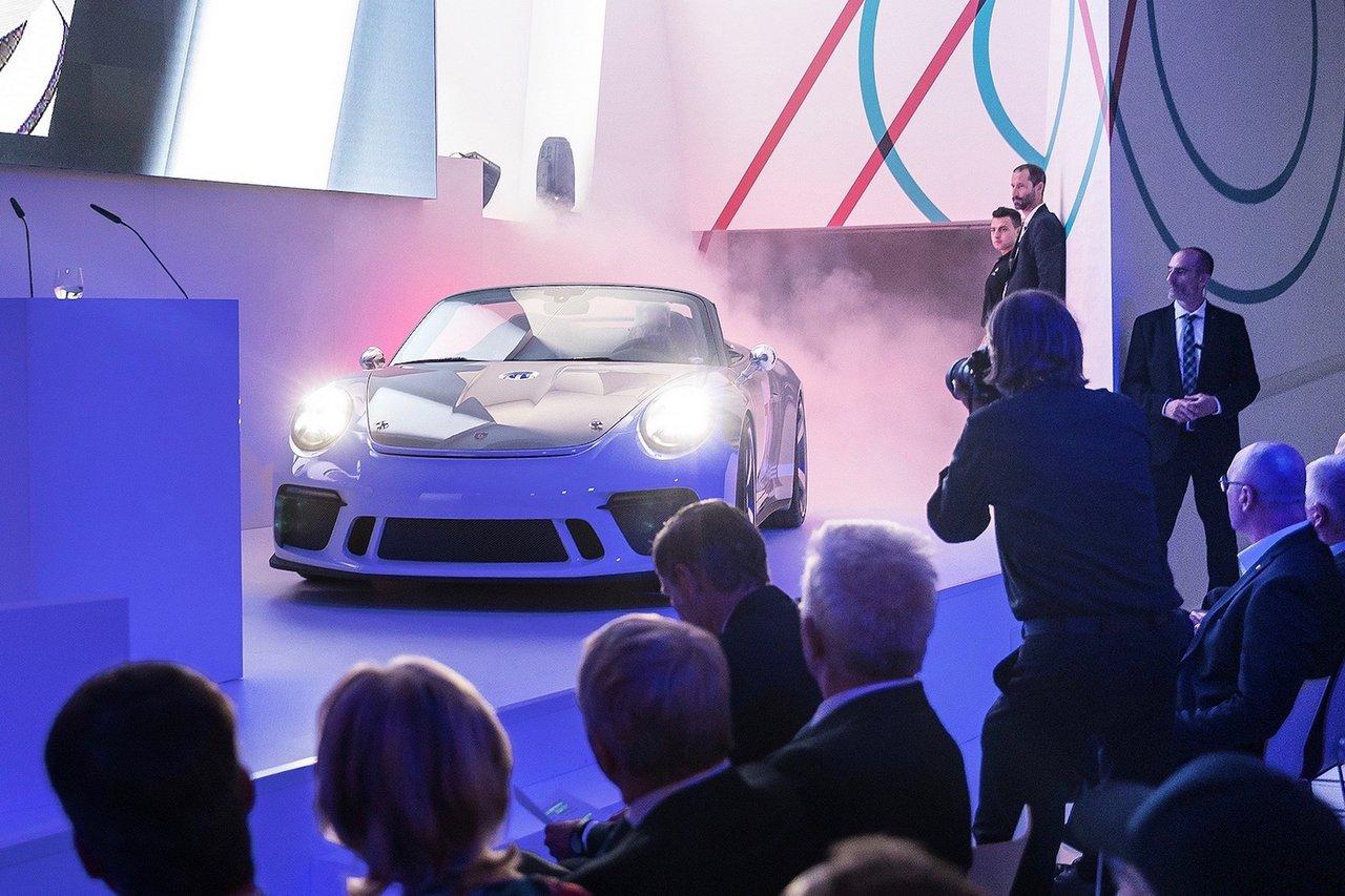 Porsche 911 Speedster - Fahrbereite Konzeptstudie