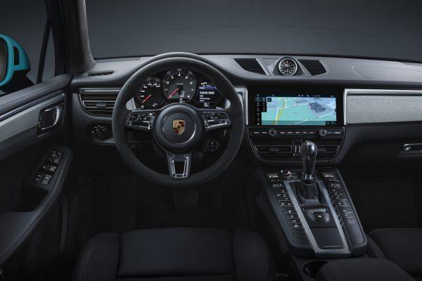 Innenraum des neuen Porsche Macan