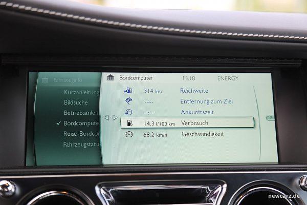 Rolls-Royce Wraith Black Badge Verbrauch