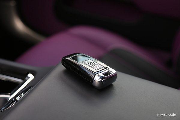 Rolls-Royce Wraith Black Badge Schlüssel