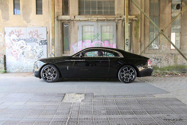 Rolls-Royce Wraith Black Badge Seite
