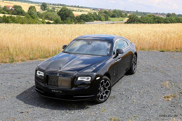 Rolls-Royce Wraith Black Badge schräg oben